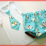 'Polar Bear Christmas'- MaisyMoo Designs Boys Matching Set