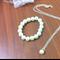 Flower girl bracelet and necklace gift set