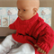 Baby Knit Clothes, Red Cable, Knit Baby Jumper, Jackets, Sweater, Toddler Wool