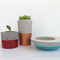 Trio - Concrete Succulent Planter Set - Urban Decor