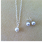 Little Girl Pearl Jewelry Set - Necklace, Studs, Flowergirl Gift