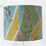 Handmade Lampshade - 1940s Vintage Barkcloth