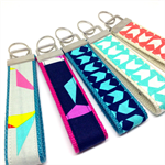 Ladies' key fob wristlet