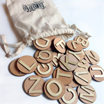 3D Wooden Alphabet - Learn your ABC's