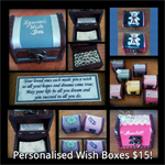 Personalised, Hand Painted Tooth Fairy Treasure Chests and Wish Boxes