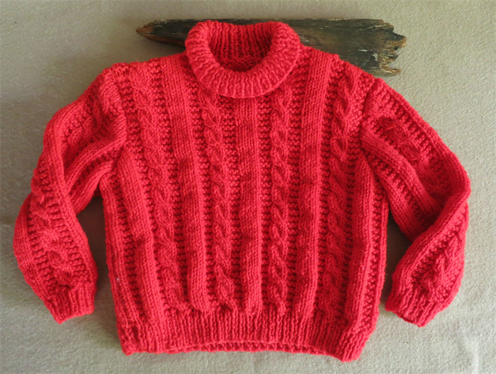 Baby Wool Knit Clothes, Red Cable, Knit Baby Jumper, Jackets, Sweater, Toddle...