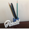 Pencil Slot with Personal Name/Word
