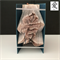 """Chinese """"Love"""" Folded BookArt Sculpture"""