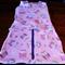 Fleece Baby Sleeping Bag /Bunting & Swaddle Wrap - Owls