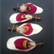FREE SHIPPING-Teepee Feather Buttonholes