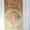 Welcome Bride and Groom Wedding/ Engagement Timber/ Wooden Sign