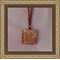 Glass Tile Necklace - Autumn Roses