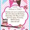 Look Whoo's Birthday- Pink polka Dot - Digital Party Invitation