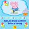 Peppa Pig-George-blue - Digital Party Invitation
