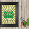 Teenage Mutant Ninja Turtles Lego A4 print.  Personalised with your name FREE.