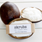 Natural Sugar Scrub Organic Coconut Oil Exfoliant w/ Coconut Shell Bowl Skrubs