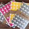 60 Love Heart Stickers - 2.3cm Envelope Seals Small Gift Wrapping Scrapbooking