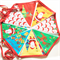 CHRISTMAS BUNTING. Large fabric bunting