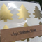 10 Christmas Tree Stickers- Peel n Stick- Pick your Colour