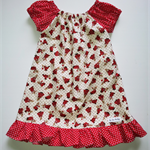 """Some Bunny Loves Me"" Pretty Peasant dress Size 00"