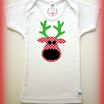 MaisyMoo Designs 'Blushing Reindeer' T-shirt (Singlet & Long Sleeve available)
