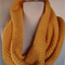 Infinity Scarf Reversible Cowl yellow ready to send