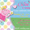 Peppa Pig-fairy wand and sparkles- Digital Party Invitation