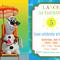 Olaf-Beach Fun- Digital Party Invitation