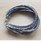 GREY COLOUR BASICS BRACELET - FREE SHIPPING WORLDWIDE