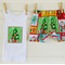Size 3-6months babies' 'Christmas' design shorts and singlet set