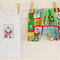 Size 0-3months babies' 'Christmas' design shorts and singlet set
