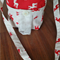 Kids Bag - Cream Red Cream Reindeers