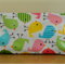 Laminated zippered pouch, makeup bag, pencil case