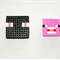 Stocking Fillers Minecraft Magnets - Enderman and Pig