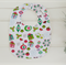 Christmas owls, birds and presents design bib