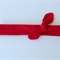 Bright Red Knotted Headband