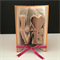 Double Layer Love Folded Bookart Sculpture