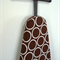 Ironing Board Cover - Brown and white modern decor