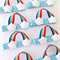 rainbow theme party favors
