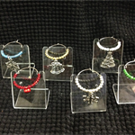 Christmas Wine Glass Charms - Set 1