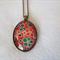 Japanese chiyogami paper nacklace