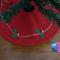 FREE POST Mini Christmas Tree Skirt - Jolly Holly