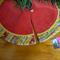 FREE POST Mini Christmas Tree Skirt - Tinsel Time