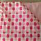 Pink Apples Padded Cot Blanket