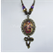 Oriental Princess - Antique Gold Cameo Necklace