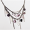 Purple mix necklace