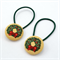 Christmas Wreath Hair Ties