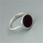 Black Resin Ring