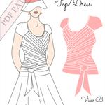PDF Margerita Nursing Top/Dress Pattern