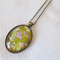 Japanese chiyogami paper nacklace